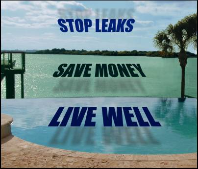 stop leaks, save money, & live well